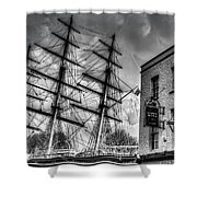 The Cutty Sark And Gipsy Moth Pub Greenwich Shower Curtain