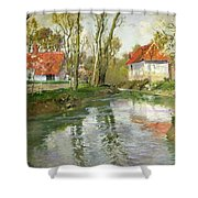 The Dairy At Quimperle Shower Curtain