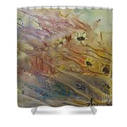 The Daisy Patch #1 Shower Curtain