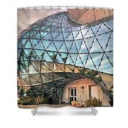 The Dali Museum St Petersburg Shower Curtain by Mal Bray