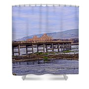 The Dalles 2013 Shower Curtain