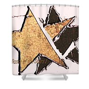 The Dance Of The Stars Shower Curtain