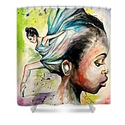 The Dancer In Me Shower Curtain