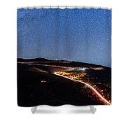 The Dark Mountain Shower Curtain