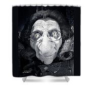 The Dark Ugly Witch Shower Curtain