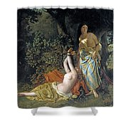 The Daughters Of El Cid Shower Curtain