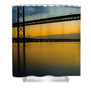 The Dawn Of Day II Shower Curtain