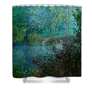 The Dawn Of Tranquility Shower Curtain