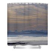 The Dawn Shower Curtain