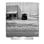 The Day Shower Curtain
