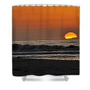 The Day Comes To Life Shower Curtain