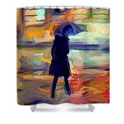 The Day For An Umbrella Shower Curtain