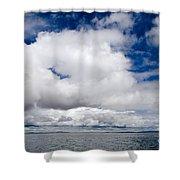 Cloudscape Over Lake Titicaca Peru Shower Curtain