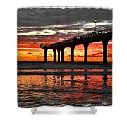 The Day Has Arrived  Shower Curtain