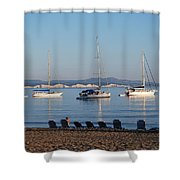 The Day Is Gone Two Shower Curtain