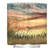 The Days End Shower Curtain
