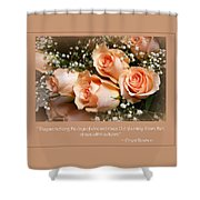 The Days Of Wine And Roses Shower Curtain