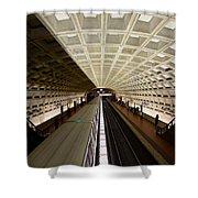 The D.c. Metro Shower Curtain