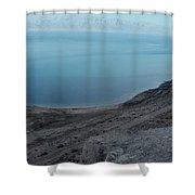 The Dead Sea - Looking At Jordan Shower Curtain