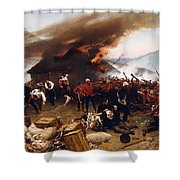 The Defence Of Rorke's Drift 1879 Shower Curtain