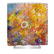 The Degrees Of Color  2 Shower Curtain