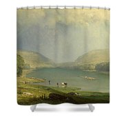 The Delaware Water Gap Shower Curtain