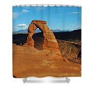The Delicate Arch 10 Shower Curtain
