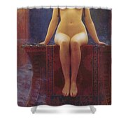 The Delphic Oracle Shower Curtain