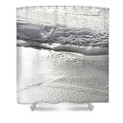 The Depths Of Layers Shower Curtain