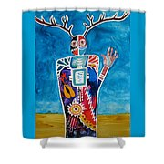 The Desert Is Calling You Shower Curtain