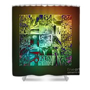 The Devil Is In The Details Shower Curtain