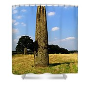The Devils Arrows Shower Curtain