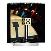 The Dice Shower Curtain