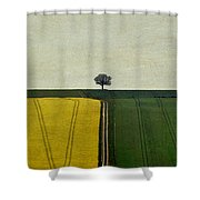 The Dimensionless Monologue Shower Curtain