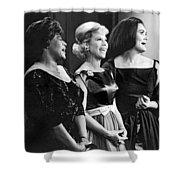 The Dinah Shore Chevy Show Shower Curtain
