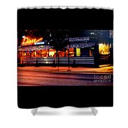 The Diner On Sycamore Shower Curtain