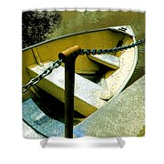 The Dinghy Image C Shower Curtain