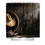 The Dirty Hat Shower Curtain