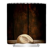 The Dirty Tan Hat Shower Curtain