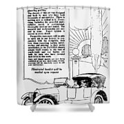 The Distinguished Car Of  1916 Shower Curtain