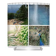 The Divine Child Shower Curtain