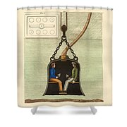 The Diving Bell Shower Curtain