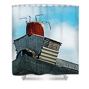 The Diy Chimney Shower Curtain