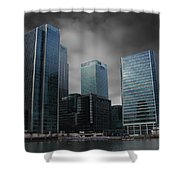 The Docklands Shower Curtain