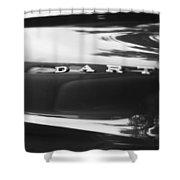 The Dodge Dart Shower Curtain