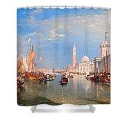 The Dogana And San Giorgio Maggiore Shower Curtain