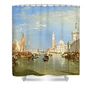 The Dogana And San Giorgio Maggiore Shower Curtain