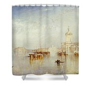 The Dogano Shower Curtain