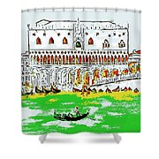 The Doge's Palace Shower Curtain