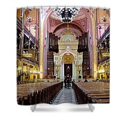 The Dohany Street Synagogue Budapest Shower Curtain